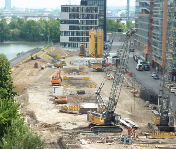 Düsseldorf Wohnbebauung Heimathafen